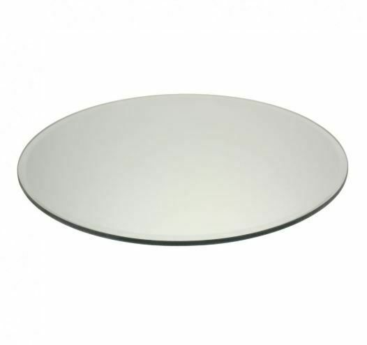 Round Mirror Candle Plate / Place Mat 25cm